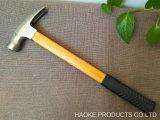 500g выступе молотком с бамбуковой ручкой, Установите противоскользящие рабочей поверхности и магнитом