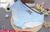 Bonito Diseño de impresión Lindo el algodón dulce ventilar el triángulo de las niñas bragas linda ropa interior de las niñas Panty