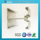 Perfil de alumínio do Ce do ISO para o frame da porta da rua da loja com cor personalizada do tamanho