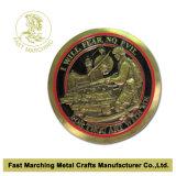 最上質3D軍海軍記念品の挑戦硬貨の製造業者