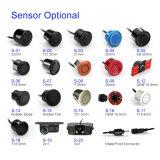 自動車の探知器の表示LED駐車センサーの逆の4台のセンサーが付いているバックアップレーダーのモニタシステム