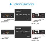 IR、EDIDの単一Cat5e/6ケーブルによる4K HDMIエクステンダー60m