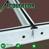 38*15 Silhoute Center en el techo de acero galvanizado negro T Grid