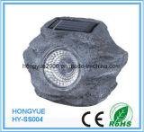 4 LED de alta calidad para PC de la luz de la piedra solar
