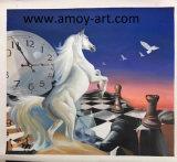 壁の装飾のためのキャンバスのハンドメイドの馬の油絵