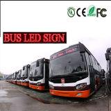Tabellone per le affissioni programmabile esterno della visualizzazione di LED del messaggio di alta luminosità di P10 16X128 per il bus
