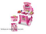 Het luxe Stuk speelgoed H0535202 van het Spel van de Keuken van het Stuk speelgoed van Kinderen Vastgestelde Plastic