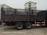 3 Wellen-Ladung-Transport-Zaun-halb Schlussteil für HOWO Traktor-LKW nach Äthiopien