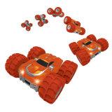 Mini RC Voiture avec roues gonflables et de la pompe inclus un nouveau design Classic Car voiture jouet pour Big Kids Flip double face au cours de voiture voiture RC Retournez