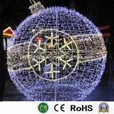 Gran Bola de Navidad de la luz de la decoración de Navidad