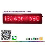 Tabellone corrente programmabile dell'interno del messaggio di luminosità LED di uso dell'interno doppio di colore di certificazione dell'UL di RoHS del Ce di buona qualità di 15.7 pollici alto