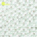 Mattonelle di mosaico di pietra bianche poco costose della fabbrica della Cina per la parete