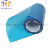 25µ/36µ/50µ/75µ/100µ/125um animal de estimação azul/vermelho do filme de proteção com adesivo acrílico para proteger a tela de plástico de vidro