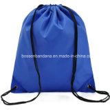 OEM Cuatomカラーロゴによって印刷されるポリエステルナイロン折るドローストリングのバックパックの鞍帯の体操は製造業者を袋に入れる