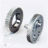 Hot Sale personnalisés L'usinage de pièces de rechange du matériel de transmission d'acier cylindrique du réducteur et droites en acier au carbone /roue conique du pignon de sortie