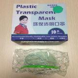 Пластиковый прозрачный маску для лица с экрана для производства продовольствия и
