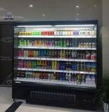 Отверстия в стене для молочных продуктов типа продуктовый супермаркет мерчандайзинга дисплей