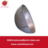 07-01 grande testa di emisfero dell'acciaio inossidabile per il contenitore a pressione