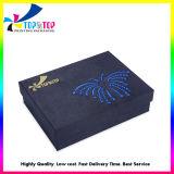 Un design unique et de la base de couvercle boîte cadeau parfum/esthétiques//Bijoux emballages papier boîte cadeau avec broderie