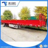 Eje 3 Semi Trialer Haz recto utilizado para transportar grandes cargas a granel y