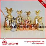 Acier inoxydable 304 Handcrafted placage de cuivre de l'Ananas Cocktail mug