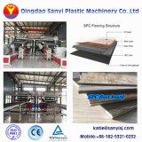 Carte de base rigide Spc Flooring/panneau/Ligne de production de tuiles