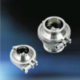 Dell'acciaio inossidabile del tubo della saldatura della valvola di ritenuta valvole sanitarie standard di ritorno non