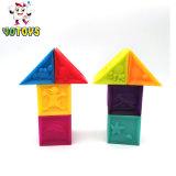 Juguete geométricas educativos Bloques Deslizantes con material de vinilo
