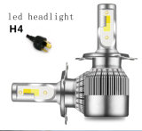 Qualidade superior 50W 5000lm C6 Puls Cor de dupla luz carro LED H7 Farol do Carro