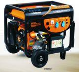 6.0kw steuern Gebrauch-Treibstoff-Benzin-Generator mit Griff u. Rädern automatisch an