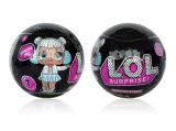 10cm big Lol Bonecos Lol Ball Surpresa Doll edição comemorativa de pó de ouro surpresa Doll 5 camadas de ovos surpresa das figuras de acção com a função Lol Doll