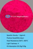 FF-21h Mirgation resistencia orgánica de la luz del día de pigmento pigmento fluorescente de goma -Magenta