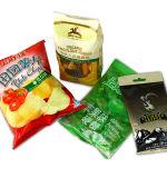 Completamente automática máquina de envasado de alimentos para los chips /Tuercas