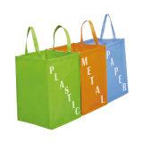Eslogan Non-Woven reutilizables Bolsa de compras (YH-NWB105)