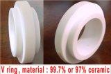De ceramische Ringen van de Koker en van de Zetel van de Schacht, het Carbide van het Silicium, het Carbide van het Wolfram
