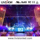 Stade de l'intérieur de haute qualité de l'écran LED de location vidéo P3.9/4.8 L'écran à affichage LED pour la conférence
