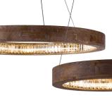 Wohnzimmer-dekorative runde hängende Kristalllampe (1626D60)