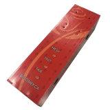 Глянцевая узкие и длинные красные коробки из гофрированного картона для упаковки