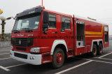 De goede Vuurleiding HOWO van de Motor van de Brand Gebruikte 14 van het Water van de Tank Ton van de Vrachtwagen van de Brand