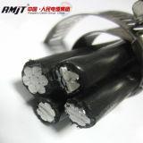 Alta qualità XLPE, PE e cavo impacchettato aereo del cavo di ABC isolato PVC