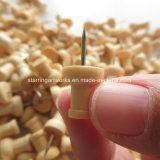 従来の砂時計の形木製のヘッド押しピン