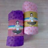 Venda por grosso de impressão personalizados de alta qualidade ou toalha de ioga de Deslizamento