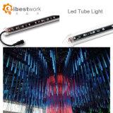 1m 14,4W DC15V 64PCS RGB LED SMD 16 pixels de luz do tubo