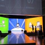 P6 monté sur un mur intérieur mur vidéo LED en couleur avec une haute qualité