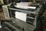 Máquina de corte de rollo de papel, plástico, aluminio