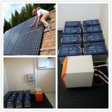 Instale o suporte 5KW 10KW de energia solar de Armazenamento da Bateria do Sistema / Sistema de Energia Solar construir sua própria casa