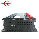 Blocker/de Stoorzender van het Signaal van de Telefoon van de cel, 16W de Stoorzender van het 2g/3G/4GCellphone +GPS+Lojack signaal tot 50meters; De stationaire Isolator van het Signaal van Telefoon 6 Bandsmobile