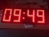 IP67大型の白いカラーGPS LEDクロック表示
