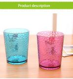 [320مل] [غود قوليتي] لون قرنفل/[غرين كلور] تصميم بلّوريّة بلاستيكيّة ماء إبريق
