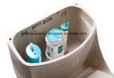 Lavabo de cerámica One-Piece Tolilet colorido y con Saso Marfil/Ce